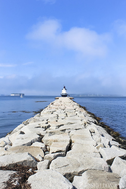 Spring Point Ledge Lighthouse, Maine