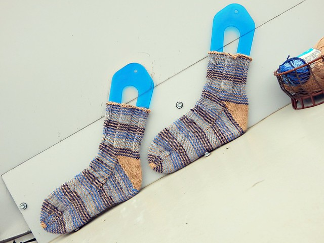 носки диагонально | socks on diagonal