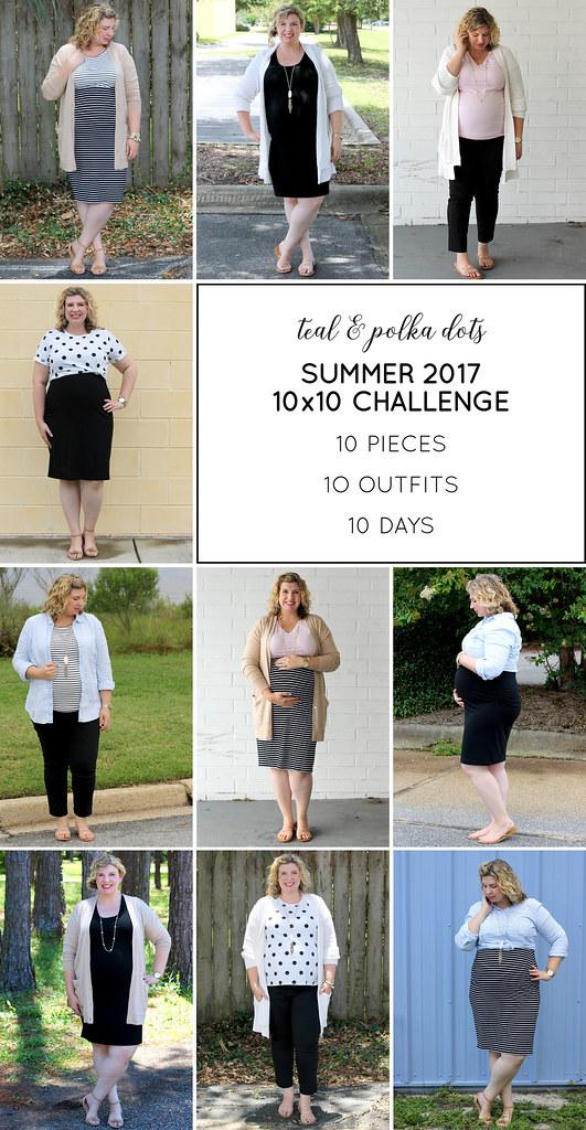 Summer 10x10 outfit recap