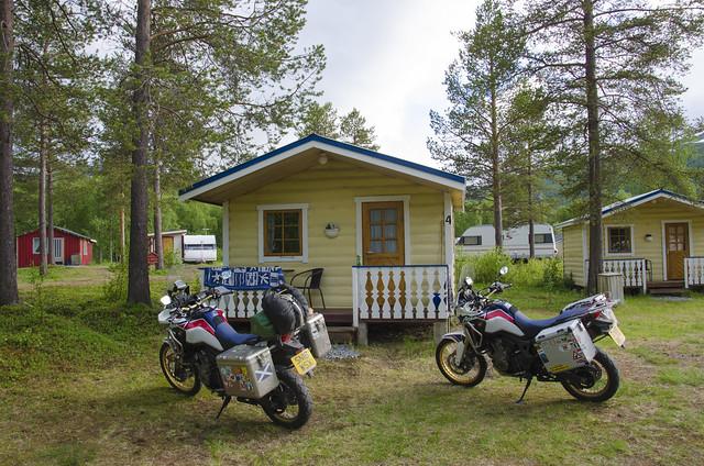 Fosseng camping hytte