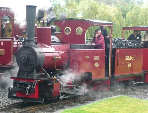 'SRAGI 14' 0-6-0WTT at the 'Statfold Barn Railway' on 'Dennis Basford's railsroadsrunways.blogspot.co.uk