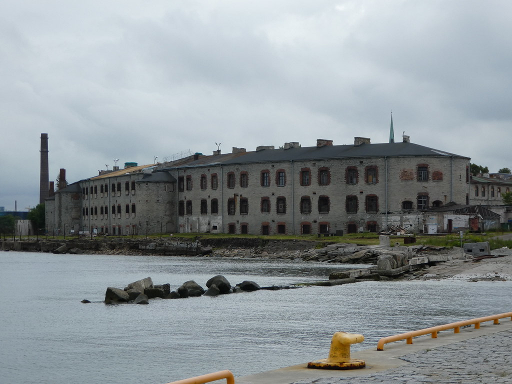 The Patarei prison viewed from the Seaplane Harbour