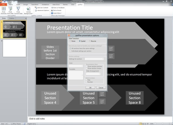 pptPlex Prezi-like Add-in PowerPoint 2010, 2013, 2016 - 07