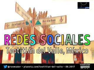 Redes Sociales en Teotitlán del Valle