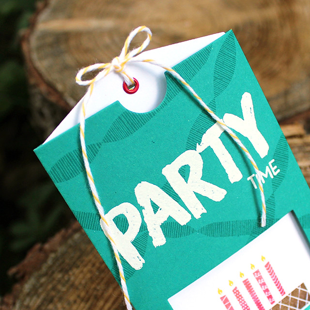 Birthday Party Pocket Invitation 2