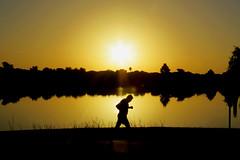 Sunrise on Woodlawn Lake