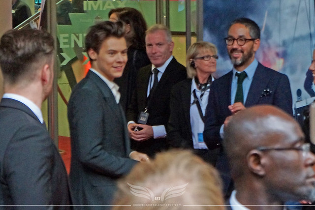 The Establishing Shot: HARRY STYLES AT THE DUNKIRK WORLD PREMIERE AT THE BFI IMAX, SOUTHBANK, LONDON