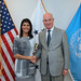 July 19, 2017 - 5:07pm - Ambassador Haley meets with African Union Peace and Security Commissioner Smaïl Chergui, July 19, 2017