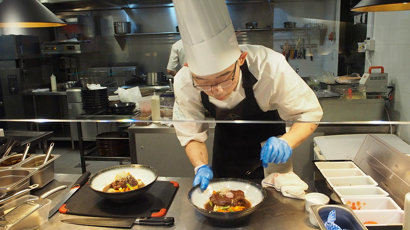 Chef at ToTT Bistro Five Senses