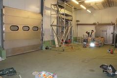 2013 Aufbau der Braui in der Nidfeldstrasse