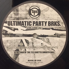 DJ GHETTO JIGGY & FUNKY CHILD PRESENTS:ULTIMATIC PARTY BRKS. VOLUME 02(LABEL SIDE-B)