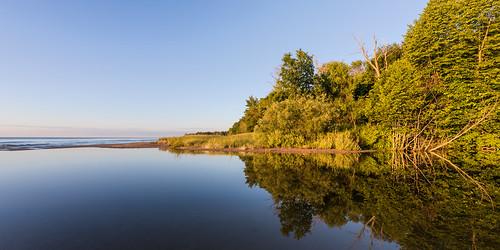 Flow to Lake Michigan