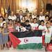 Recepción de niños y niñas saharauis en el ayto. de Sevilla