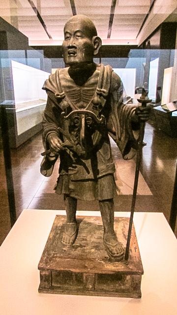 重要文化財《空也上人立像》(鎌倉時代、滋賀・荘厳寺)