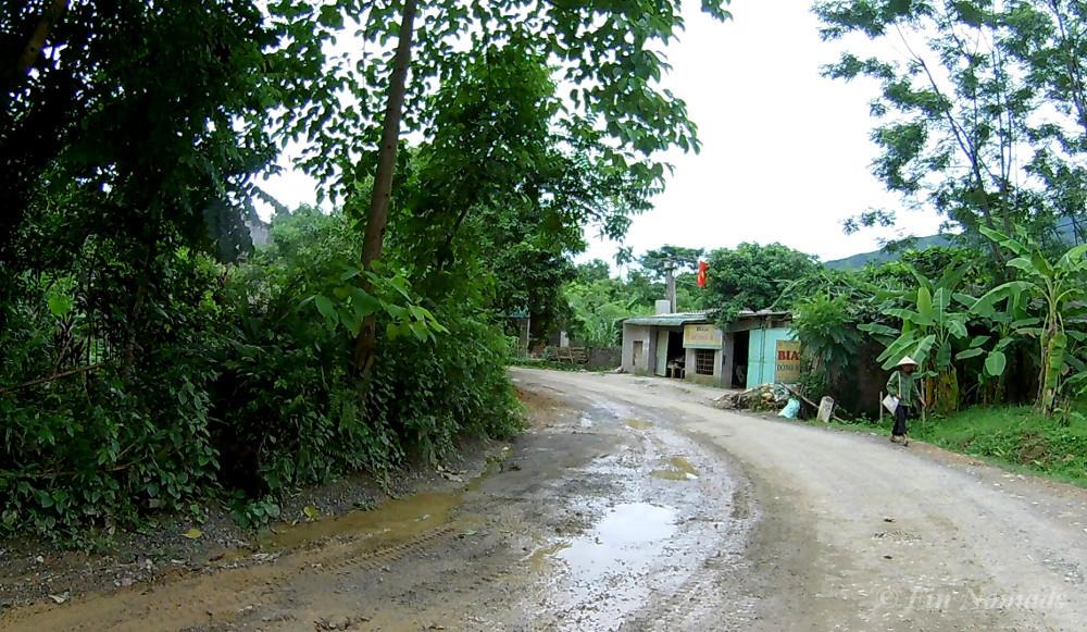 vietnamese road countryside
