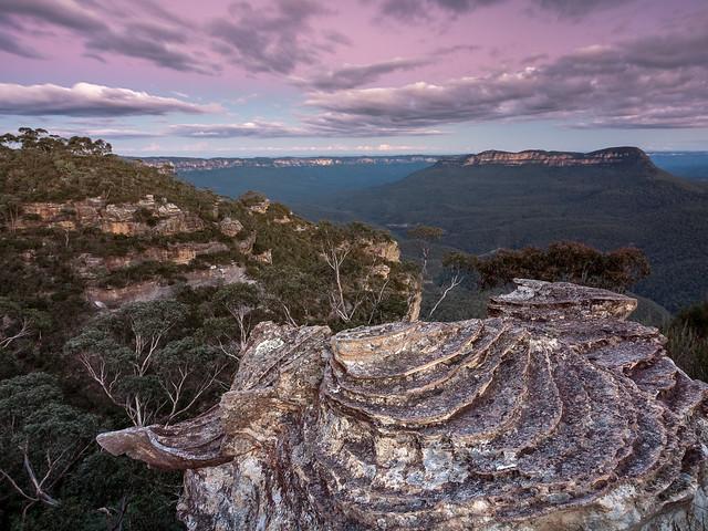 Near Landslide Lookout, Blue, Fujifilm X-T1, XF10-24mmF4 R OIS