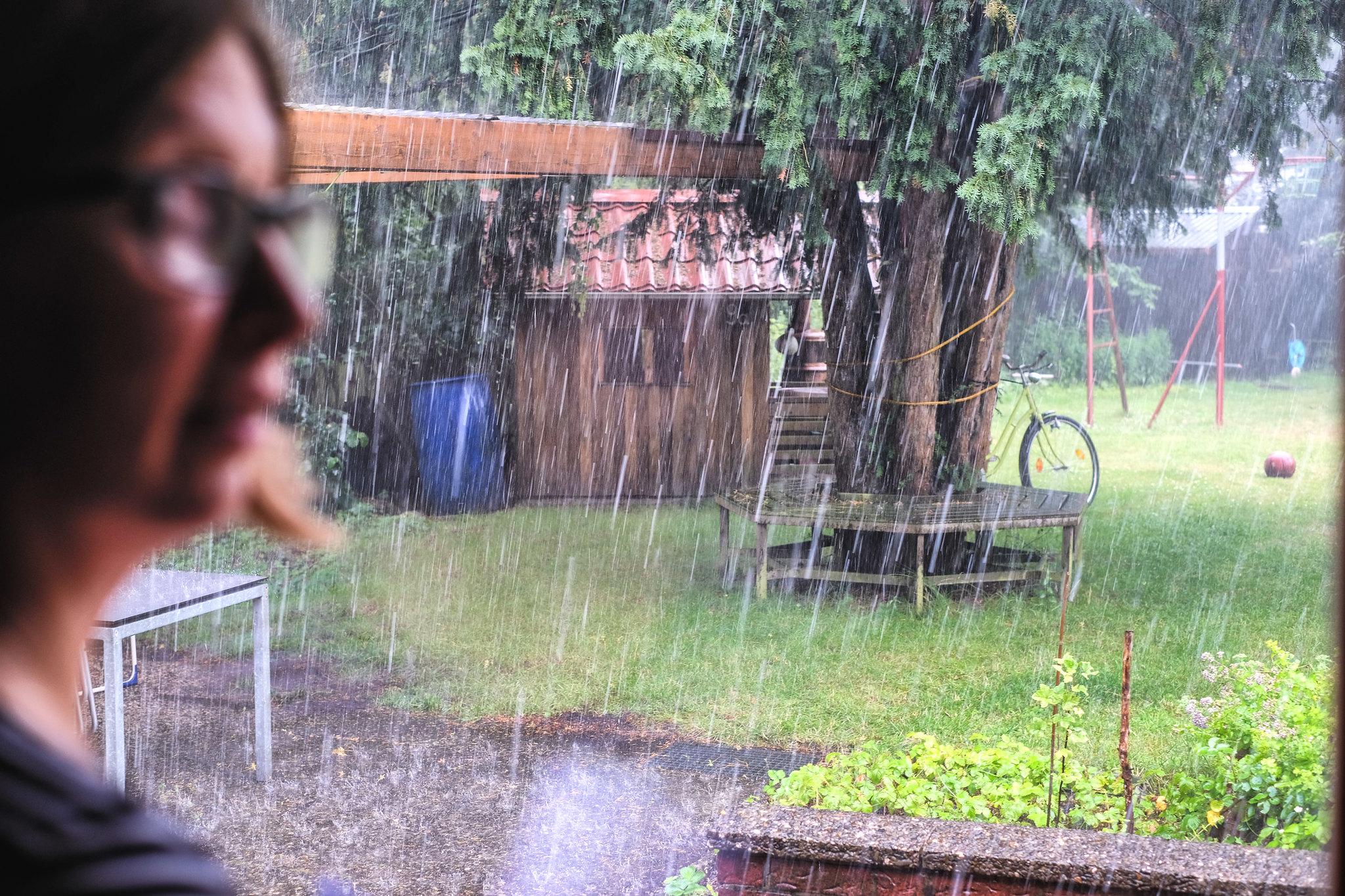 Regen in D