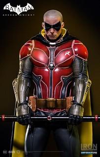 Iron Studios 蝙蝠俠:阿卡漢騎士【羅賓】Arkham Knight Robin 1/10 比例全身雕像作品