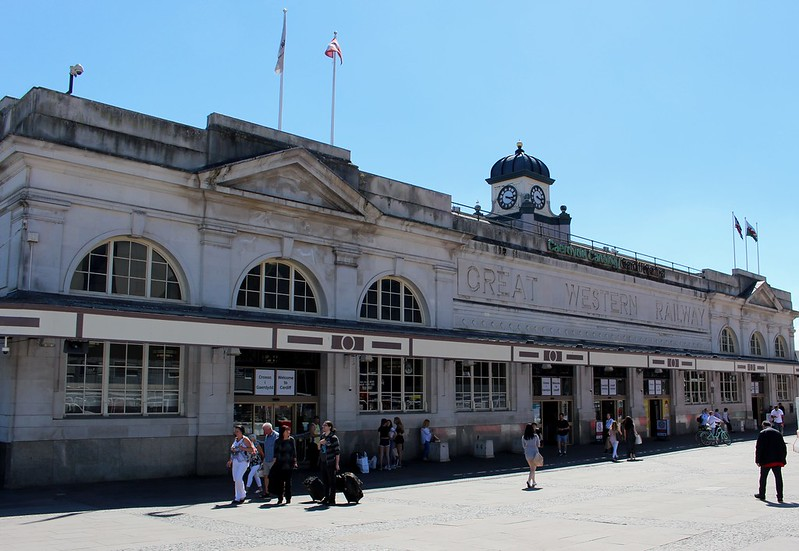 Cardiff Central Railway Station