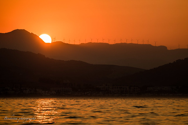 Sunset at Marinasmir - Morocco
