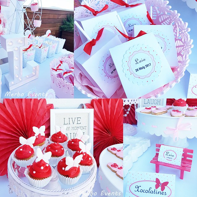 Candy bar Rojo y blanco Merbo Events