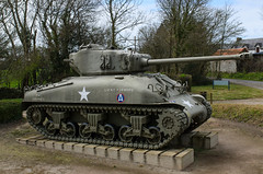 M4A1 Sherman - Photo of Taillepied