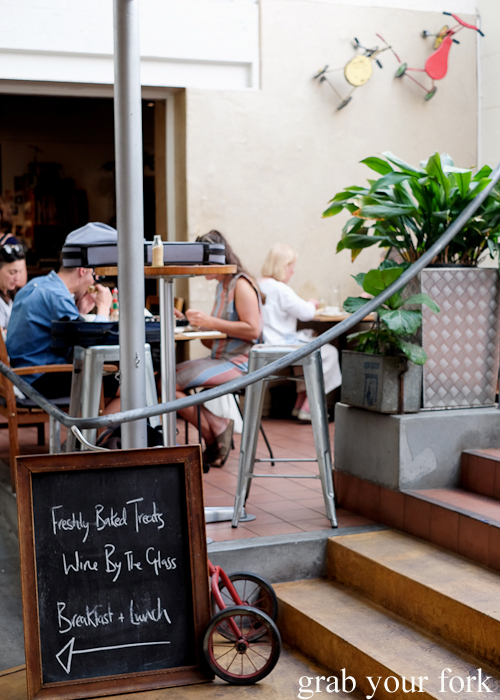 Tricycle Cafe in Salamanca Place in Hobart