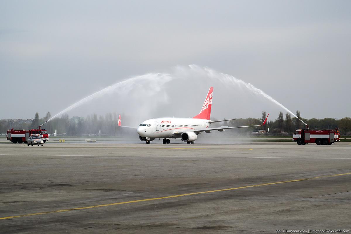 Boeing 737-700 4L-TGN Georgian Airways - Airzena