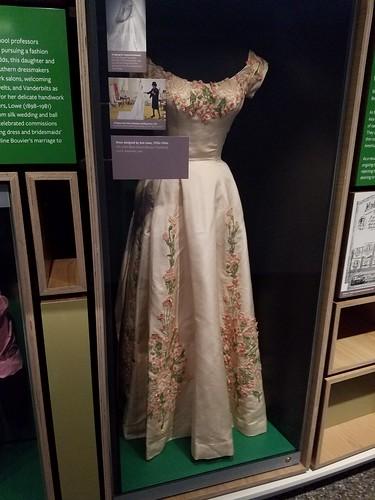 An Ann Lowe dress at the AAHM