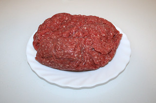 05 - Zutat Hackfleisch / Ingredient ground meat