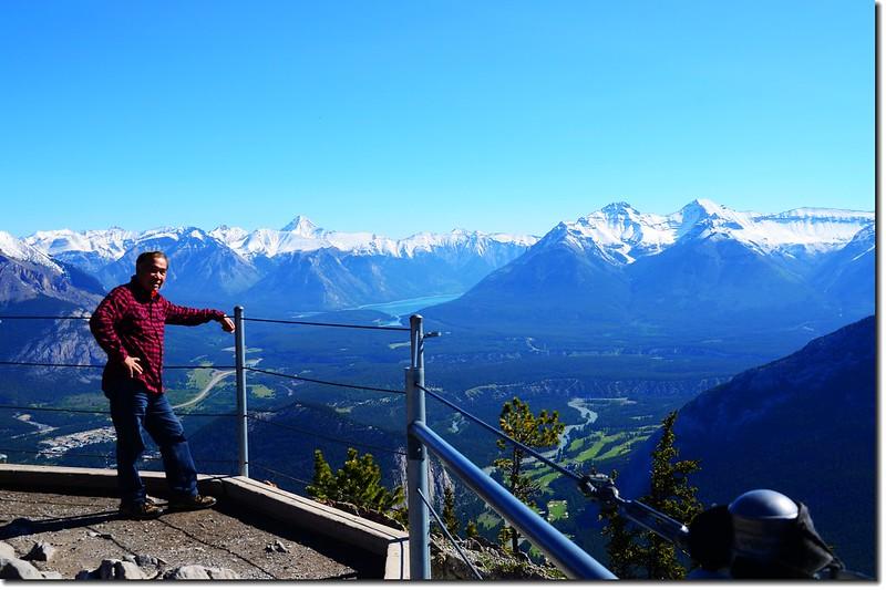 Taken from Banff Gondola Sanson Peak Observation Point 4