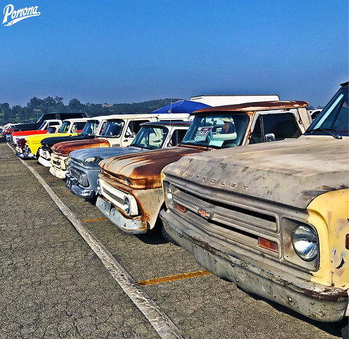 Chevy Truck Line Up