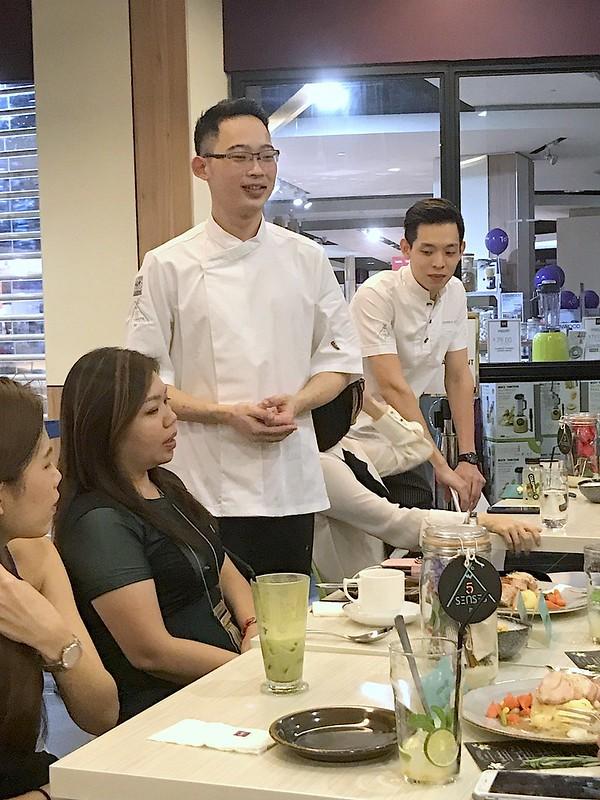 Chefs at ToTT Five Senses Bistro
