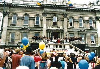 Official Speeches with Mayor Sukhi Turner, Octagon, America's Cup Parade 2000