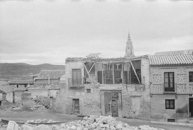Casa del Anticuario Justo García Callejo. Foto de Otto Wunderlich en 1944. Fototeca del IPCE.
