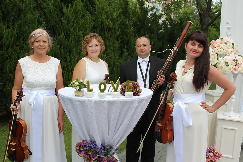"""Квартет """"Creativ"""" - превосходное звучание вашей свадьбы и любого торжества! > Фото из галереи `КВАРТЕT """" CREATIV""""`"""