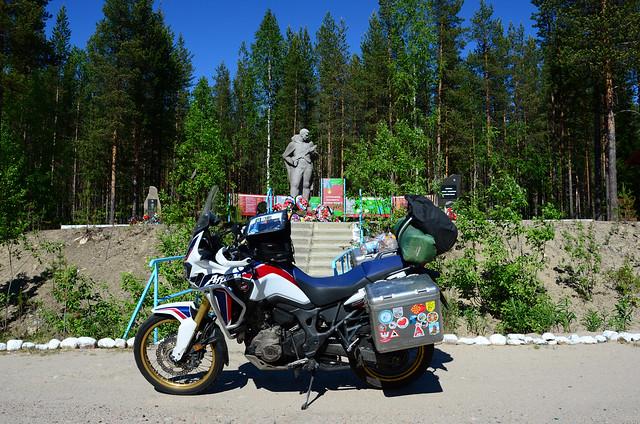 Alakurtti road, russia 3