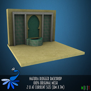 ZcZ Nafura Blogger Backdrop