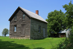 An old homestead in North Lancaster, Ontario