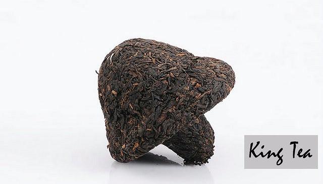 Free Shipping 2014 XiaGuan BaoYan Mushroom Tuo 250g China YunNan KunMing Chinese Puer Puerh Ripe Tea Cooked Shou Shu Cha