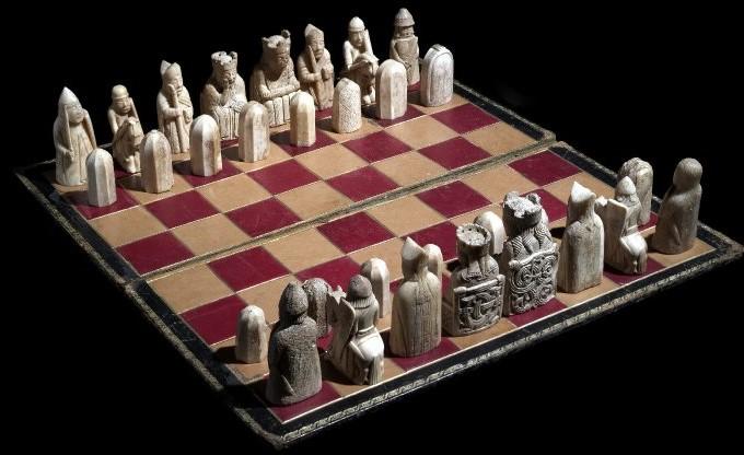 ハリーポッターの映画ルイス島のチェス駒