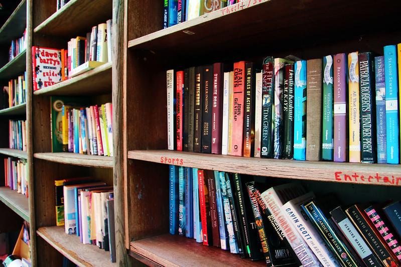 Lhooq Exrealism Vintage Bookstore