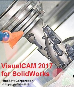 MecSoft VisualCAM 2017 Build 6.0.486 for SolidWorks 2010-2017 x86 x64 FULL