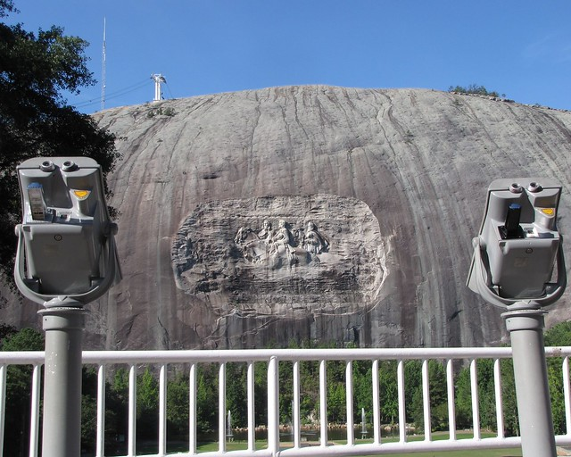 Stone Mountain Confederate Memorial, Canon POWERSHOT SX10 IS