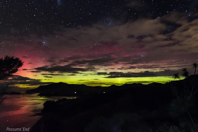 Aurora Australis, 16 July 2017