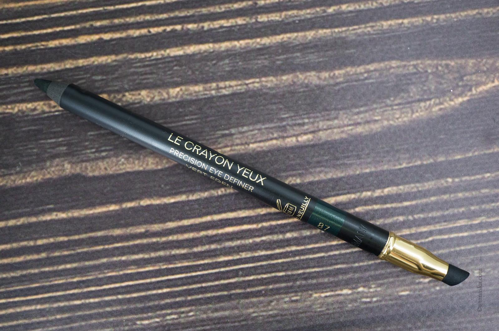 Chanel Le Crayon Yeux 87 Vert Eden