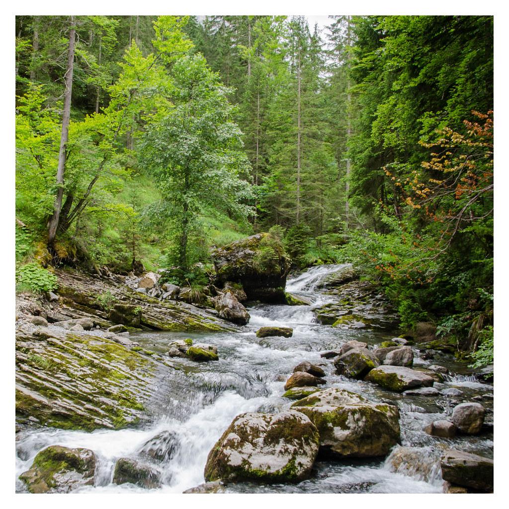 Et au milieu coule un torrent... - And in the middle flows a torrent...