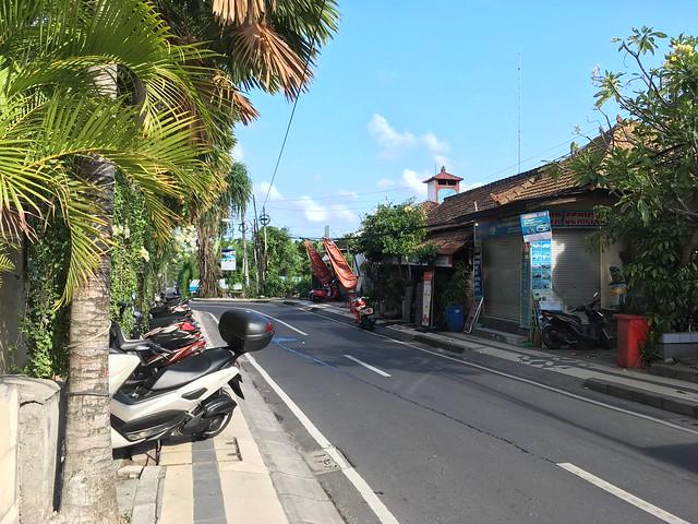 Seminyak street