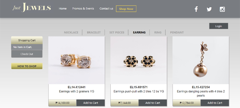 Just Jewels Online Store