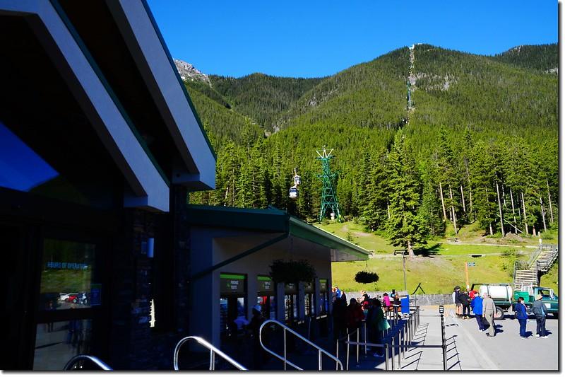 Banff Gondola Lower terminal 3